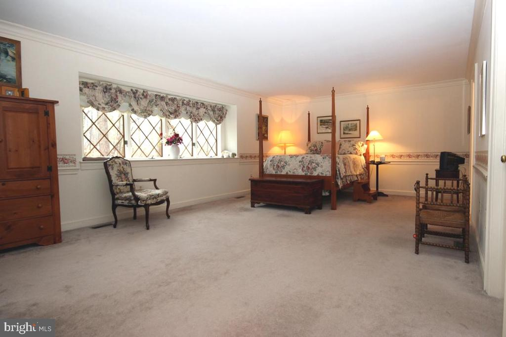 Master Bedroom  is Light-Filled - 3225 RIVERVIEW DR, TRIANGLE