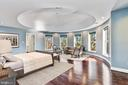 Master Suite With Domed Ceiling - 2301 TWIN VALLEY LN, SILVER SPRING