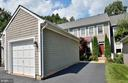 Separate Garage with Pull Down stairs for storage - 2524 BRENTON POINT DRIVE, RESTON