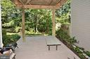 Fabulous private Lower Level Deck - 2524 BRENTON POINT DRIVE, RESTON