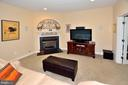 Lower Level Rec. Room with 2nd Gas Fireplace - 2524 BRENTON POINT DRIVE, RESTON