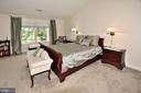 Master Bedroom with Large Walk In closet - 2524 BRENTON POINT DRIVE, RESTON