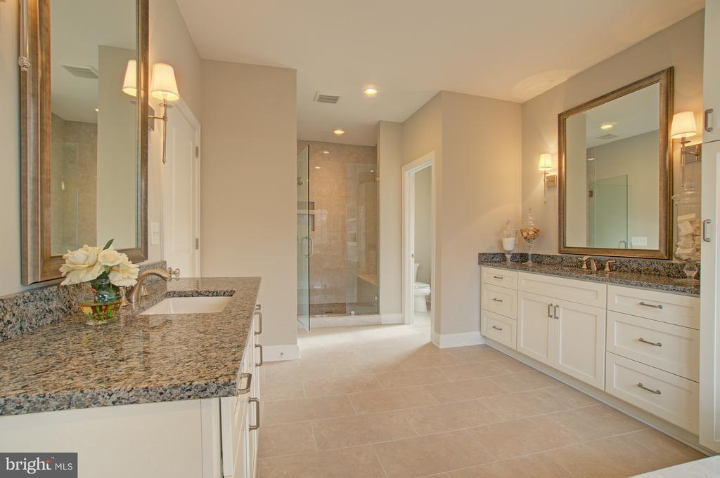 Master Bathroom - 2550 VALE RIDGE CT, OAKTON