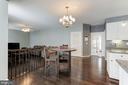 Kitchen View - 43127 LLEWELLYN CT, LEESBURG