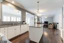 Improved Gourmet Kitchen - 43127 LLEWELLYN CT, LEESBURG