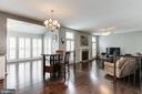 Family Room View - 43127 LLEWELLYN CT, LEESBURG