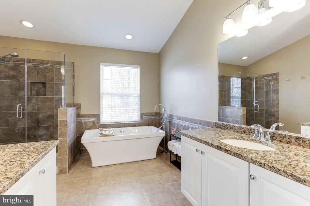 Newly Renovated Master Bathroom - 43127 LLEWELLYN CT, LEESBURG