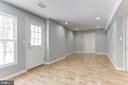 Basement with Walkout - 43127 LLEWELLYN CT, LEESBURG