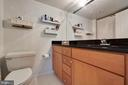 Granite Countertops in the Master Bath - 2230 GEORGE C MARSHALL DR #327, FALLS CHURCH