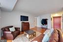 Living Room - Hall to Bedrooms - 2230 GEORGE C MARSHALL DR #327, FALLS CHURCH
