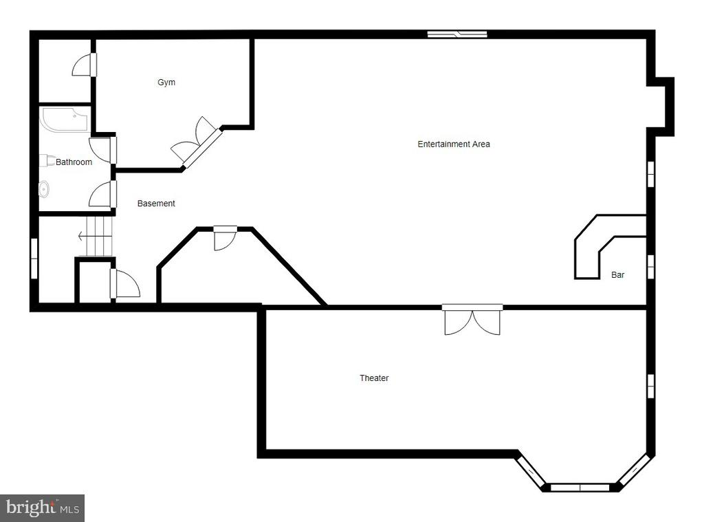 Lower Level - 7223 WHITE HOUSE DR, SPRINGFIELD
