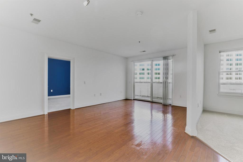Open floor plan with lots of light - 38 MARYLAND AVE #214, ROCKVILLE
