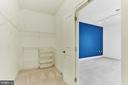 Large Walk-in Master Bedroom Closet - 38 MARYLAND AVE #214, ROCKVILLE
