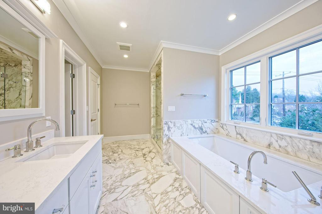 Tub that looks over the treetops - 5400 CATHEDRAL AVE NW, WASHINGTON