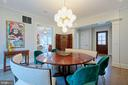 Statement lighting throughout - 5400 CATHEDRAL AVE NW, WASHINGTON