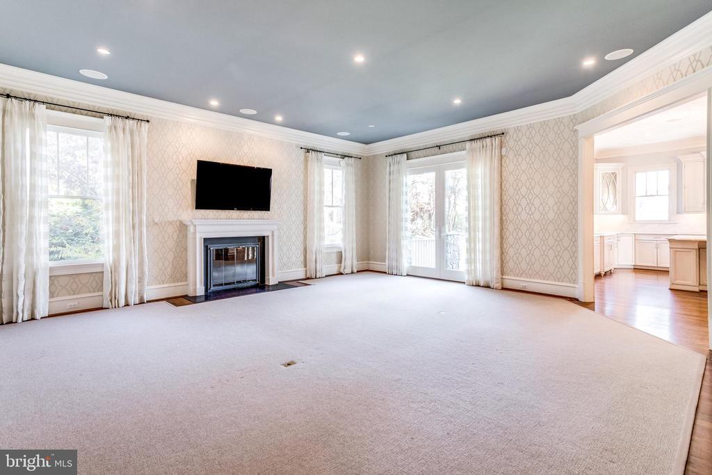 10' ceilings, 5-piece crown molding - 833 HERBERT SPRINGS RD, ALEXANDRIA