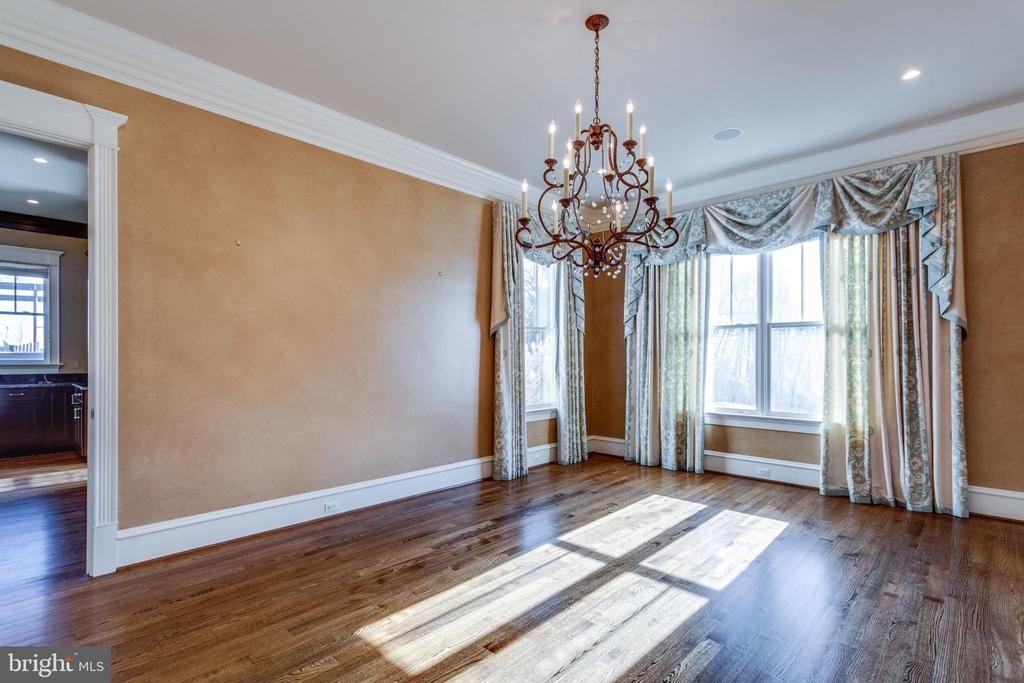 Dining room with high ceilings and exquisite light - 833 HERBERT SPRINGS RD, ALEXANDRIA