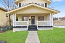 Oversized front porch - 207 UNDERWOOD ST NW, WASHINGTON