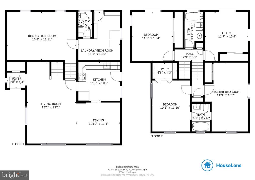 Floor plan - 10321 WOOD RD, FAIRFAX
