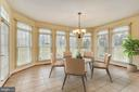 Sun drenched Florida room opens to stone patio - 16600 FERRIERS CT, LEESBURG