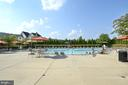 Raspberry Falls community pool & clubhouse - 16600 FERRIERS CT, LEESBURG