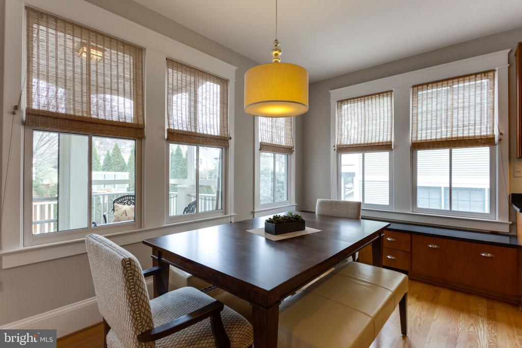 Eat-In Kitchen with Windows Surrounding - 2805 23RD RD N, ARLINGTON