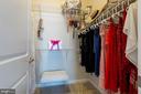 Walk-in closet - 601 FOX RIVER HILLS WAY, GLEN BURNIE