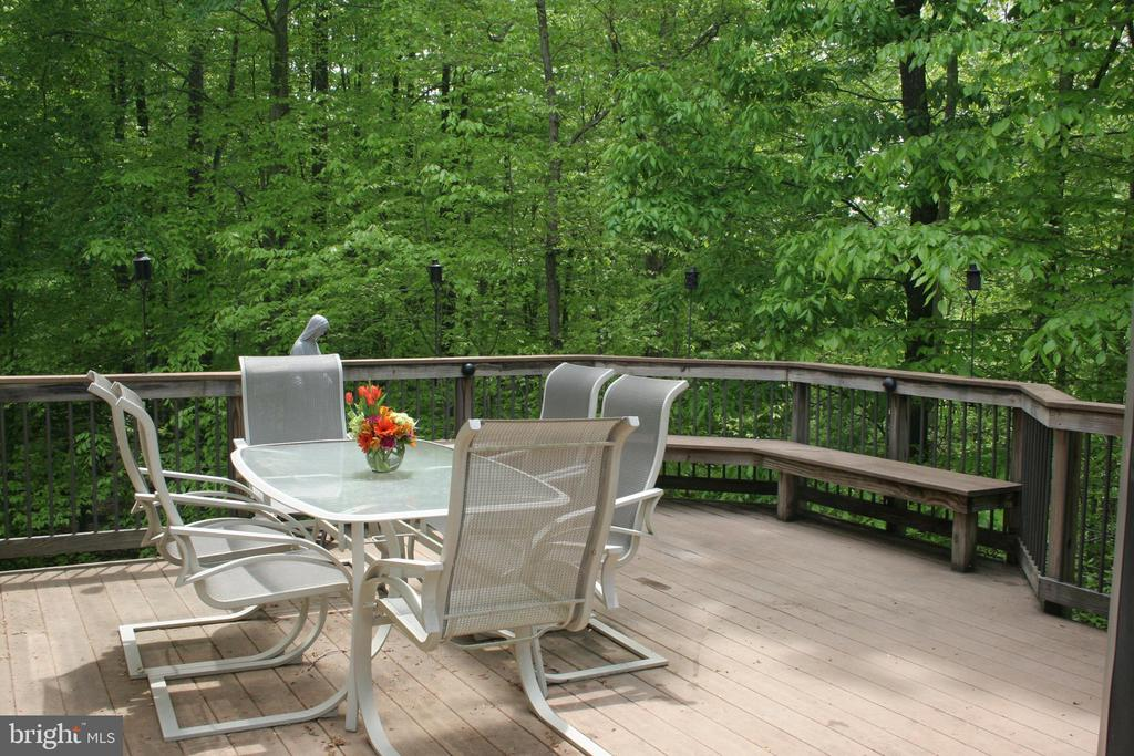 Deck Summer - 12328 TIDESWELL MILL CT, WOODBRIDGE