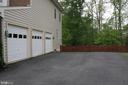 3 Car Garage - 12328 TIDESWELL MILL CT, WOODBRIDGE