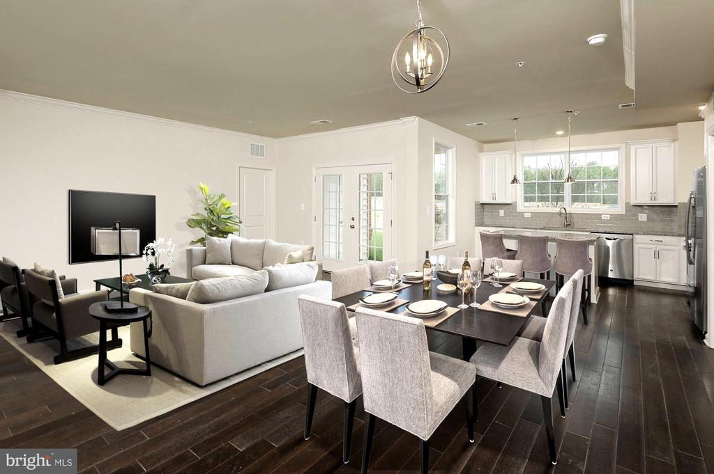 Litchfield Family Room - 23245 MILLTOWN KNOLL #102, ASHBURN