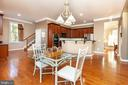 Large Eat In Kitchen - Lots of Cabinets + Pantry - 43341 CEDAR POND PL, CHANTILLY