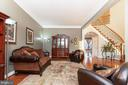 Living Room - Possible Main Level Master - 43341 CEDAR POND PL, CHANTILLY