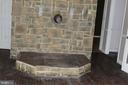 stone hearth for stove - 31 HEADWATERS RD, CHESTER GAP
