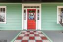 Front Door - 18815 SILCOTT SPRINGS RD, PURCELLVILLE