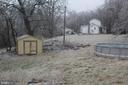 backyard - 31 HEADWATERS RD, CHESTER GAP
