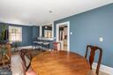 Eat in Kitchen - 18815 SILCOTT SPRINGS RD, PURCELLVILLE
