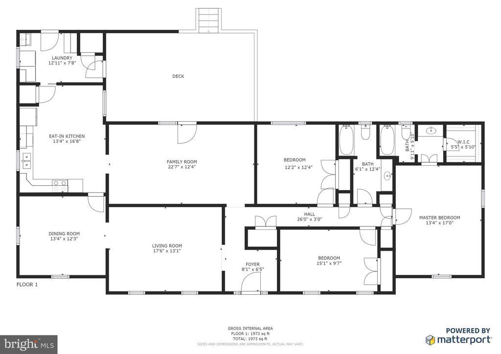Floor plan - 1 TALLY HO DR, FREDERICKSBURG