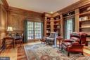 Custom wood work in home office - 11102 DEVEREUX STATION LN, FAIRFAX STATION