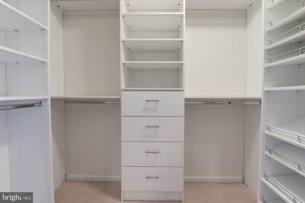 One of Master Closets with Organizers - 1326 MURRAY DOWNS WAY, RESTON