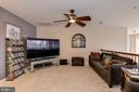Upstairs lounge with overlook to living room - 8830 WARM GRANITE DR DR #51, COLUMBIA