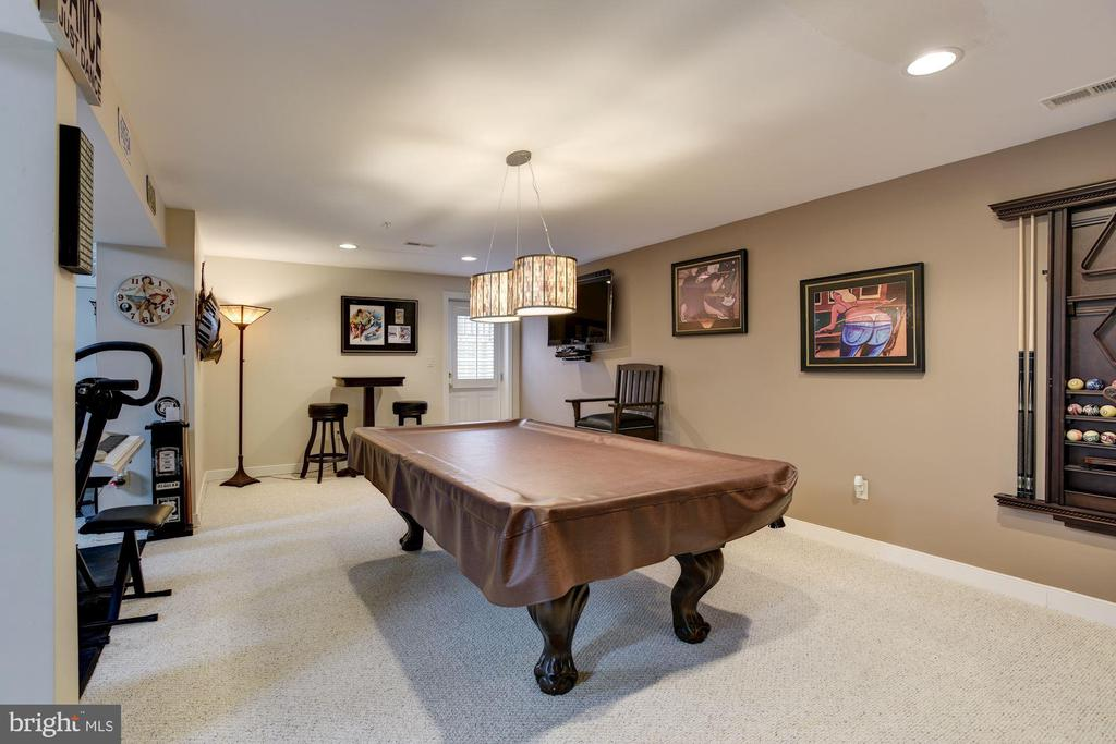 Rec room in lower level - 8830 WARM GRANITE DR DR #51, COLUMBIA