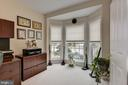 1st floor office with bay window. - 8830 WARM GRANITE DR DR #51, COLUMBIA