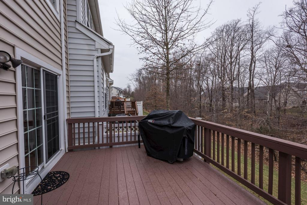 Expanded deck - 8830 WARM GRANITE DR DR #51, COLUMBIA
