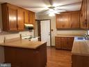 Nice spacious kitchen with lots of cabinets - 8809 MILLWOOD DR, SPOTSYLVANIA