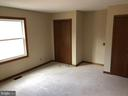 Master bedroom with 2 closets - 8809 MILLWOOD DR, SPOTSYLVANIA