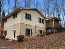 Rear-side elevation - 8809 MILLWOOD DR, SPOTSYLVANIA
