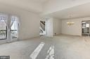 Living Room / Dining Room - 3666 RUSSELL RD, WOODBRIDGE