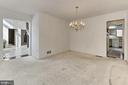Dining Room - 3666 RUSSELL RD, WOODBRIDGE