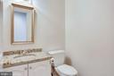 Main Level Powder Room - 8911 GLADE HILL RD, FAIRFAX