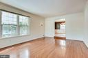 Living Room - 8911 GLADE HILL RD, FAIRFAX